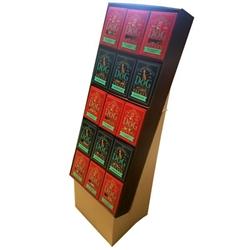 Holiday Treat Display - Filled with 30 Boxes of Treats