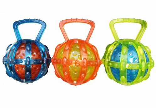 Chomper TPR Cage with Ball-Transparent Version