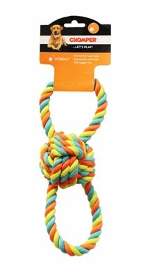 Chomper TPR/ Rope Ball