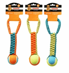Chomper Braided Nylon Tennis Ball Tug
