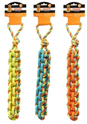 Chomper Braided TPR/Rope Tug