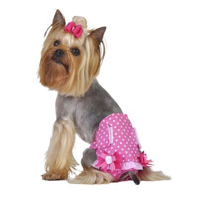 Pink Polka Dot Girl Fancy Pants
