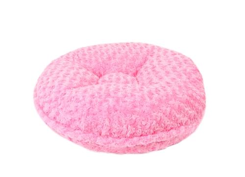 Hot Pink Rosebud Round Bed