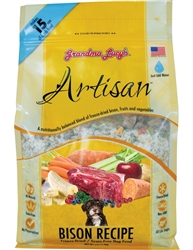 Grandma Lucy's Artisan Bison Grain Free Dog Food 3 Pound