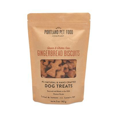 Grain & Gluten Free Gingerbread Dog Biscuits