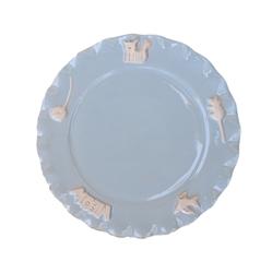 Cat Whisker Plate - Sky Blue
