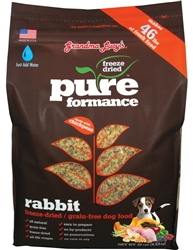 Grandma Lucy's Pureformance Rabbit Grain Free Dog Food