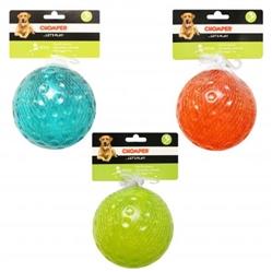 "Chomper 5"" TPR Dimple Ball"