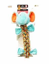 "Chomper Rope Elephant 22"""