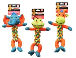 Chomper Rope Braided Body Toy