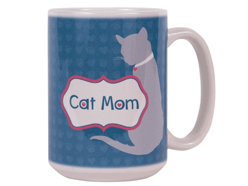 Cat Mom - Big Mug