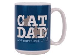 Cat Dad - Big Mug