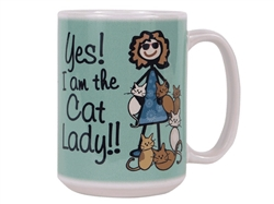 Cat Lady - Big Mug