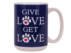 Give Love Get Love - Big Mug