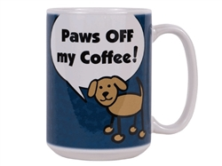 Paws off my coffee!! - Big Mug