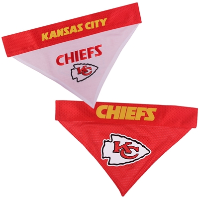 Kansas City Chiefs Reversible Bandana