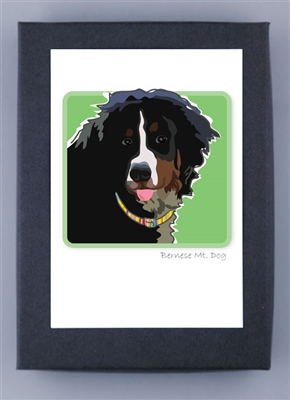 Bernese Mountain Dog - Grrreen Box Notes