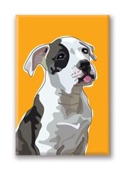 American Bulldog - Fridge Magnet