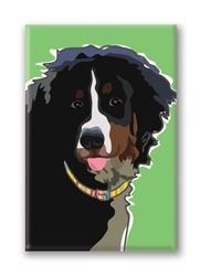 Bernese Mountain Dog - Fridge Magnet
