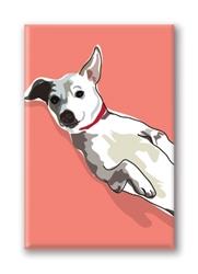 Jack Russell Terrier - Fridge Magnet