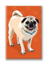Pug - Fridge Magnet