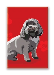 Shihpoo - Fridge Magnet