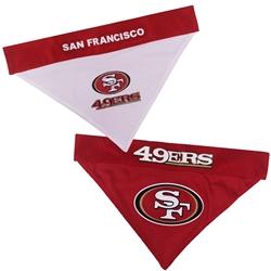 San Francisco 49ers Reversible Bandana