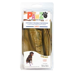 PawZ Camo Dog Boots