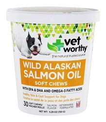 Wild Alaskan Salmon Oil Soft Chews