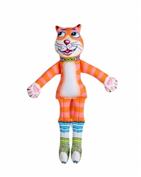 "Socks Medium Dog Toy - 14.5"" That Sneaky Cat!"