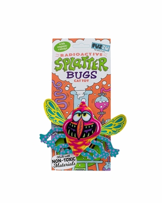Zinger Cat Toy -  Splatterbugs