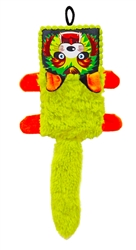 16 Inch Squeaker Box Angry Kitty Dog Toy