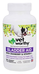 Bladder Aid Chewable (75 Tablets)