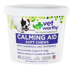 Calming Aid Soft Chews (45 Chews)