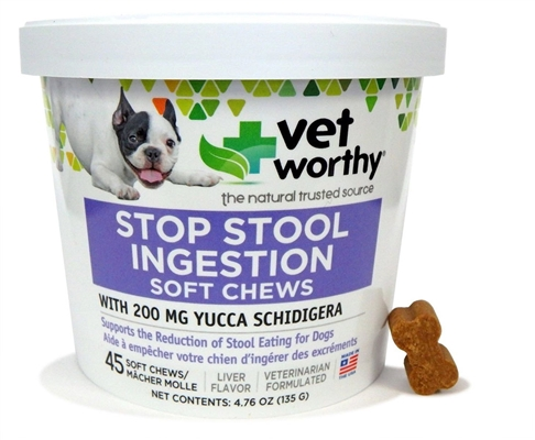 Stop Stool Ingestion Chewable