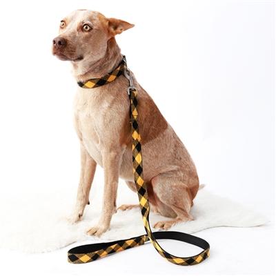 Buffalo Plaid Flannel Dog Collars & Leashes