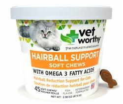 Hairball Soft Chew Aid
