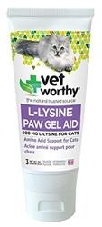 L-Lysine Paw Gel for Cats - 3oz. Gel