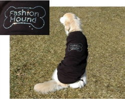 BLING TEE SHIRT / FASHION HOUND