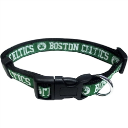 Boston Celtics Dog Collar and Leash