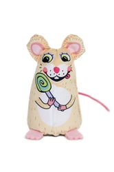 "Lolli Cat Toy - 3.5"" Sweet Baby Mice"