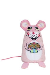 "Cupcake Cat Toy - 3.5"" Sweet Baby Mice"