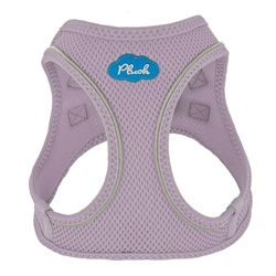Lavender Frost Plush Step In Vest Air-Mesh Harness