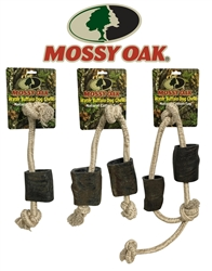 Mossy Oak Buffalo Horn Rope Tug and Throw Toys