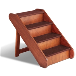 PupSTEP Wood Stairs (Brown Box)