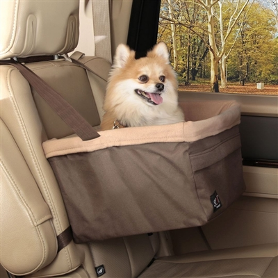 Brown Happy Ride™ Booster Seat (Brown Box)