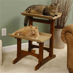Double Seat Cat Furniture (Brown Box)