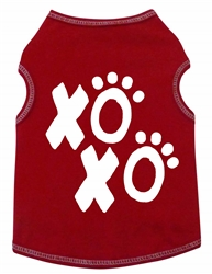XOXO Paw - Tank - Red