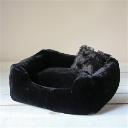 The Divine Dog Bed: Black
