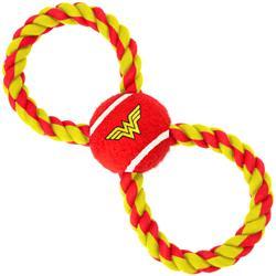 Wonder Woman Tennis Ball Rope Toy